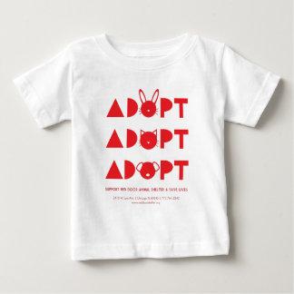 AdoptRedDoor.jpg Baby T-Shirt