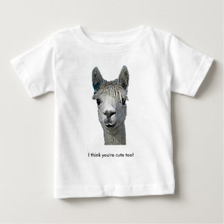 Adorable Alpaca Baby T-Shirt