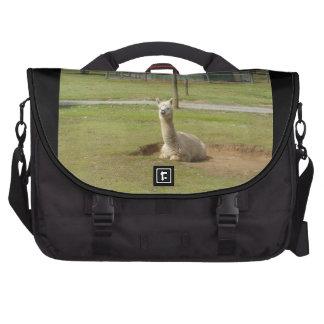 Adorable Alpaca Laptop Messenger Bag