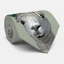 Adorable Alpaca Neck Tie