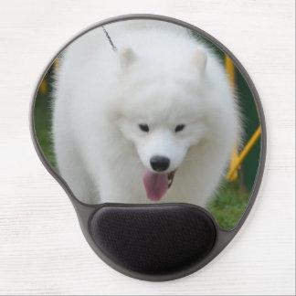 Adorable American Eskimo Dog Gel Mousepad