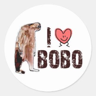 ¡Adorable!  AMO el diseño de <3 BOBO - encontrar Etiqueta Redonda