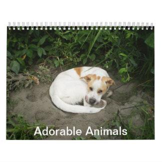 Adorable Animal Calendar