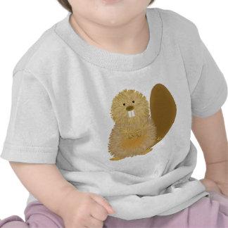 Adorable Animal Drawings: Beaver T Shirt