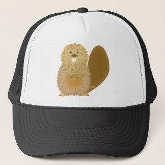 Adorable Animal Drawings: Beaver Trucker Hat