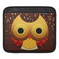 Adorable Autumn Owl Sleeve For iPads