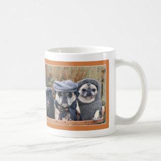 Adorable Autumn Pug Mug by Pugs and Kisses