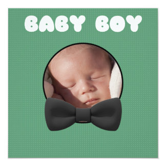 Adorable Baby Announcement Replace Image