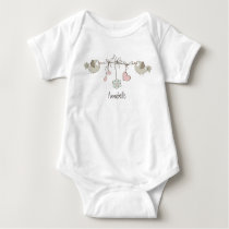 Adorable Baby Birds | Personalized Baby Bodysuit