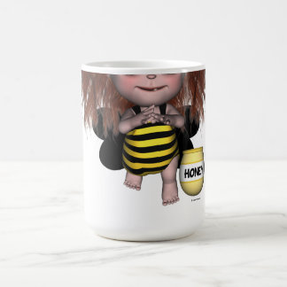 Adorable Baby Bumble Bee Fairy Sally Mug