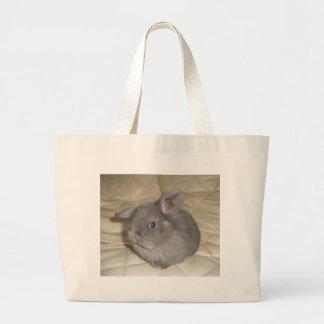 Adorable Baby Mini Lop Jumbo Tote Bag