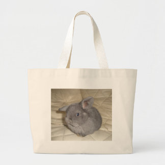 Adorable Baby Mini Lop Large Tote Bag