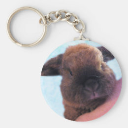 Adorable Baby-Rabbit Keychain
