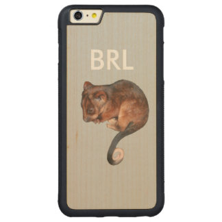 Adorable Baby Ringtail Possum in Australia Carved Maple iPhone 6 Plus Bumper Case