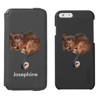 Adorable Baby Ringtail Possum in Australia iPhone 6/6s Wallet Case