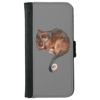 Adorable Baby Ringtail Possum in Australia Wallet Phone Case For iPhone 6/6s