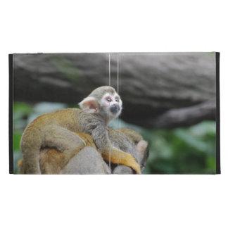 Adorable Baby Squirrel Monkey iPad Case