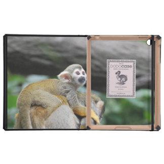 Adorable Baby Squirrel Monkey iPad Cover