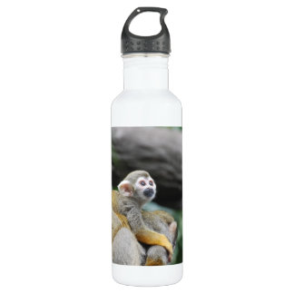 Adorable Baby Squirrel Monkey 24oz Water Bottle