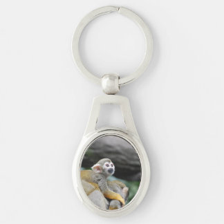 Adorable Baby Squirrel Monkey Key Chains