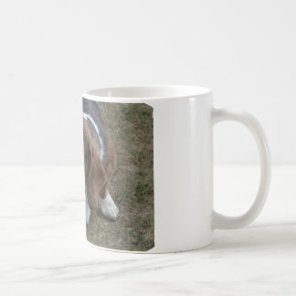 Adorable Basset Hound Coffee Mug