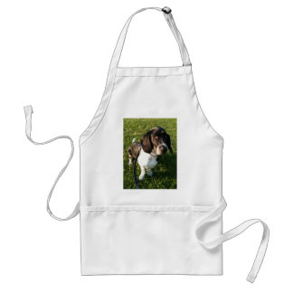 Adorable Basset Hound Snoopy Adult Apron