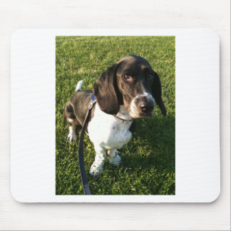 Adorable Basset Hound Snoopy Mouse Pad
