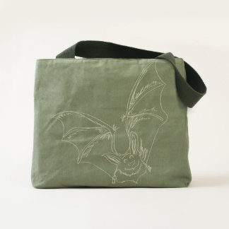 Adorable Bat Canvas Bag