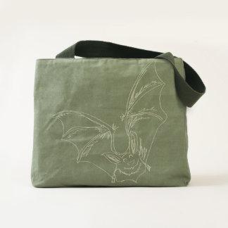 Adorable Bat Canvas Bag