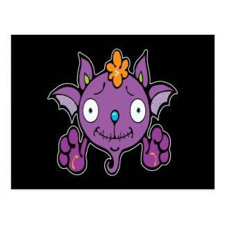 Adorable-Bat Postcard