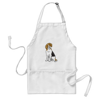 Adorable Beagle Adult Apron