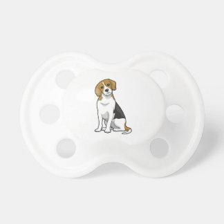 Adorable Beagle BooginHead Pacifier