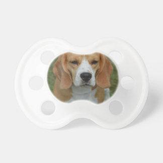 Adorable Beagle Baby Pacifier