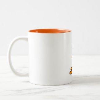 Adorable Big Eyed Alien Coffee Mugs