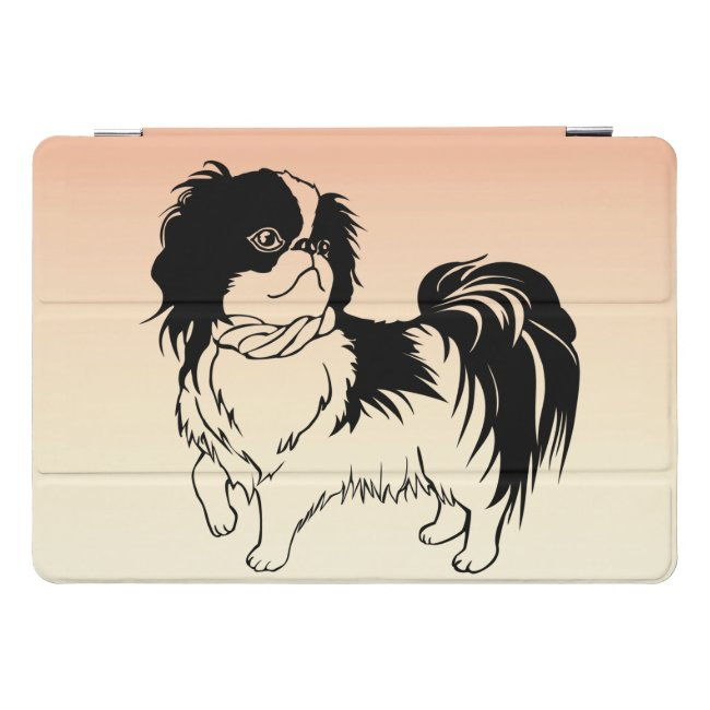 Adorable Black and White Dog 10.5 iPad Pro Case