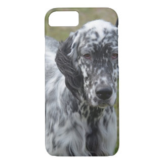 Adorable Black and White English Setter iPhone 8/7 Case