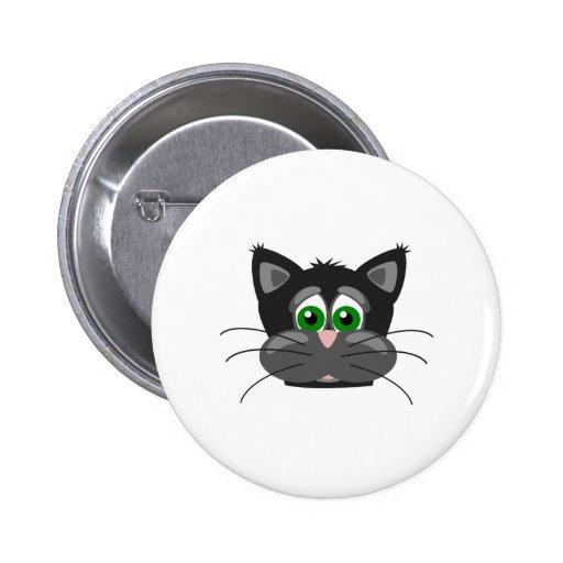 Adorable Black Cat Pin