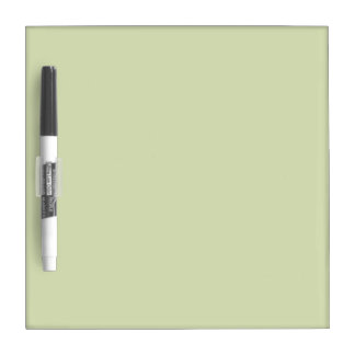 Adorable Blank Sage Color, Pretty Shade of Green Dry Erase Board