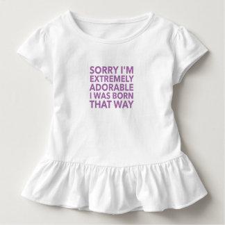 Adorable Born That Way Toddler T-shirt