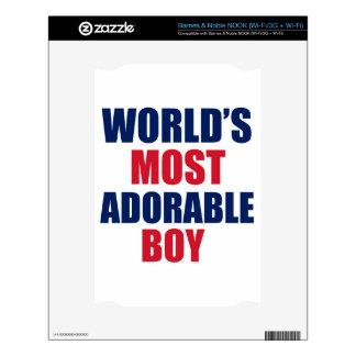 Adorable boy NOOK decals