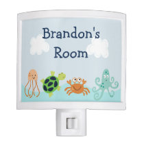 "Adorable ""Bubbles Sealife"" Night Light"