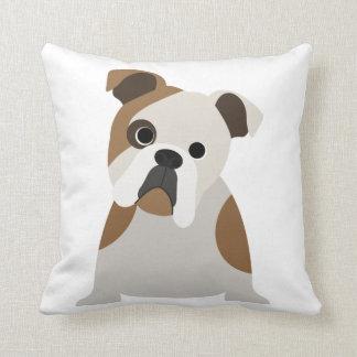 Adorable Bulldog lover puppy pillow