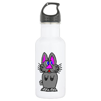 Adorable Bunny Stainless Steel Water Bottle