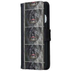 iPhone 6 Wallet Case with Cairn Terrier Phone Cases design