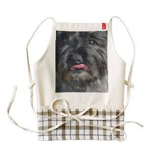Adorable Cairn Terrier Zazzle HEART Apron