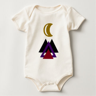 Adorable Camping Hiking Baby : Baby Bodysuit