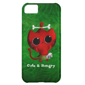 Adorable Cannibal Halloween Cat Case For iPhone 5C