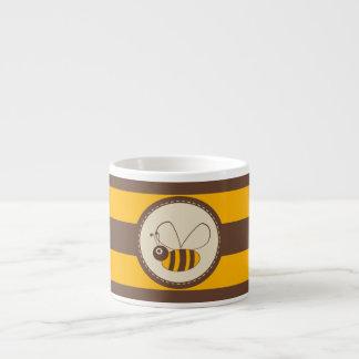 Adorable Cartoon Honey Bee Espresso Cup