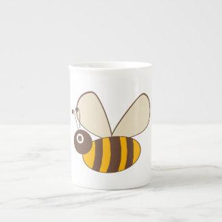 Adorable Cartoon Honey Bee Tea Cup