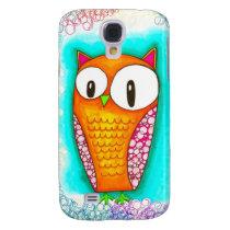 Adorable Cartoon Owl Samsung S4 Case